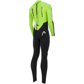 Head Swimrun Rough 4.3.2 Wetsuit Men Black/Yellow